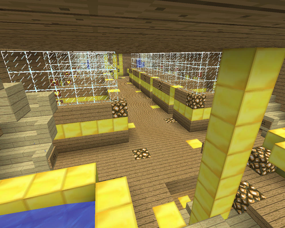 Sky Army Basecamp: Recruit Dorms - Second Level by xSagefurx