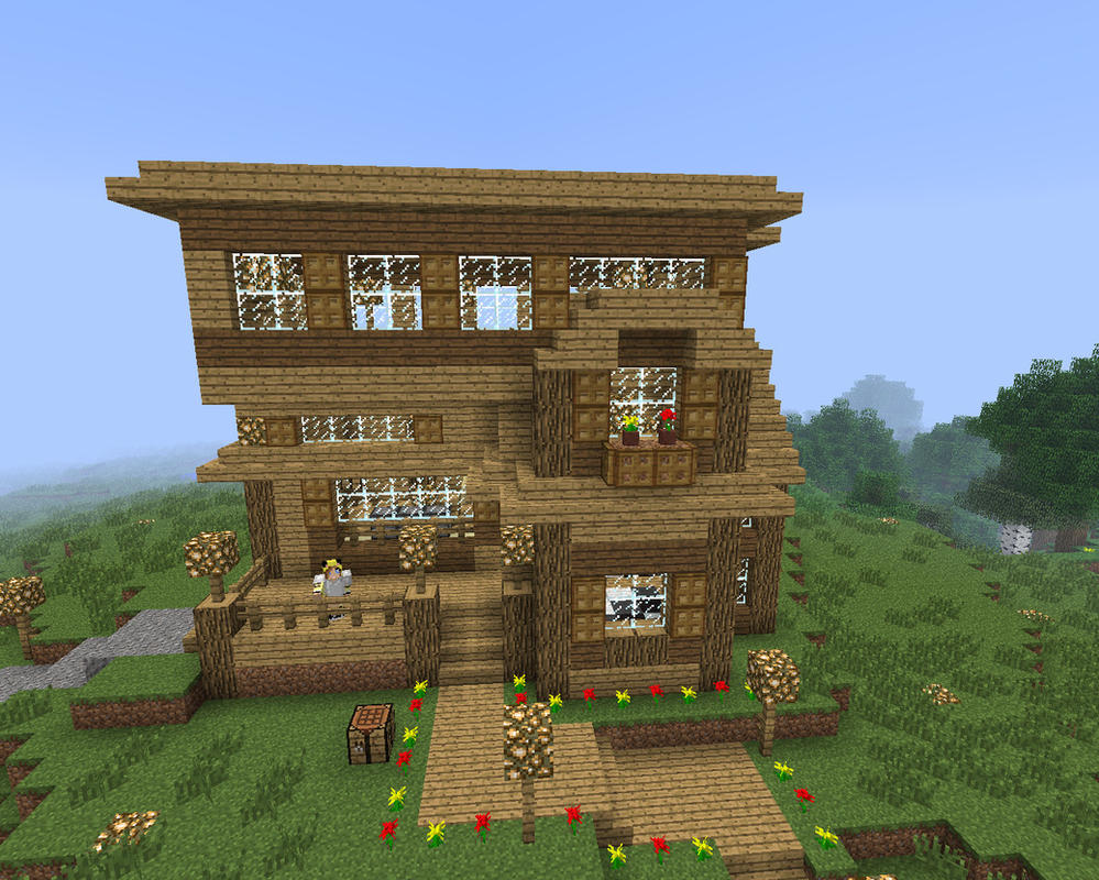 Minecraft Our House By XSagefurx On DeviantArt