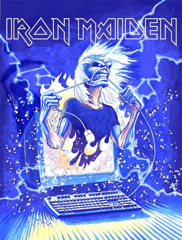 Iron Maiden by nikki-nitro