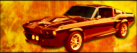 Ford Mustang 500 GT Eleanor by lorDoom