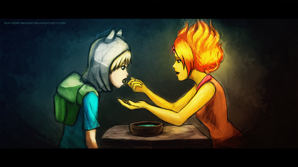 C'mon honey, eat your soup by Rayzoir