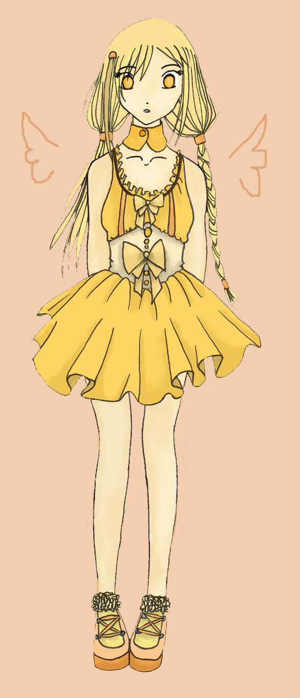 Yellow girl for giwi