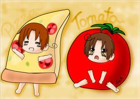 ~ Pizza - Tomato ~ by Jaha-Fubu