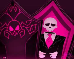 [Mystery Skulls Ghost]  All alone. by Jaha-Fubu