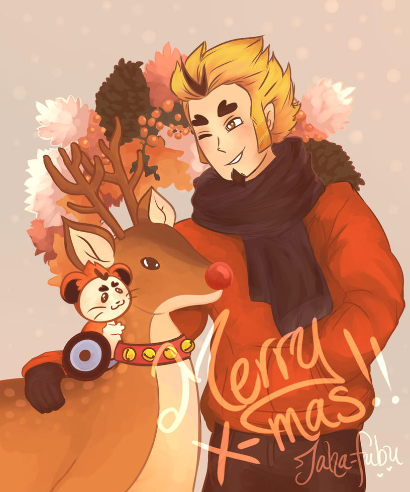 [MSA] Christmas Arthur by Jaha-Fubu