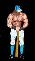 Conan the first baseman