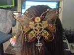 Steampunk jewelry Butterfly