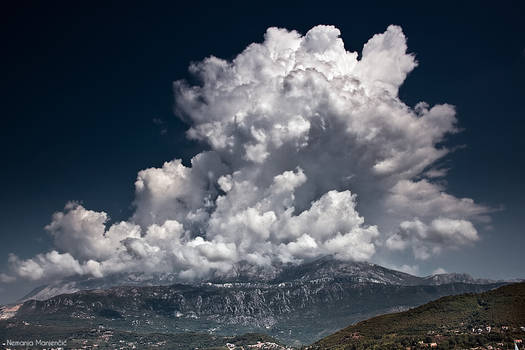 Clouds explode