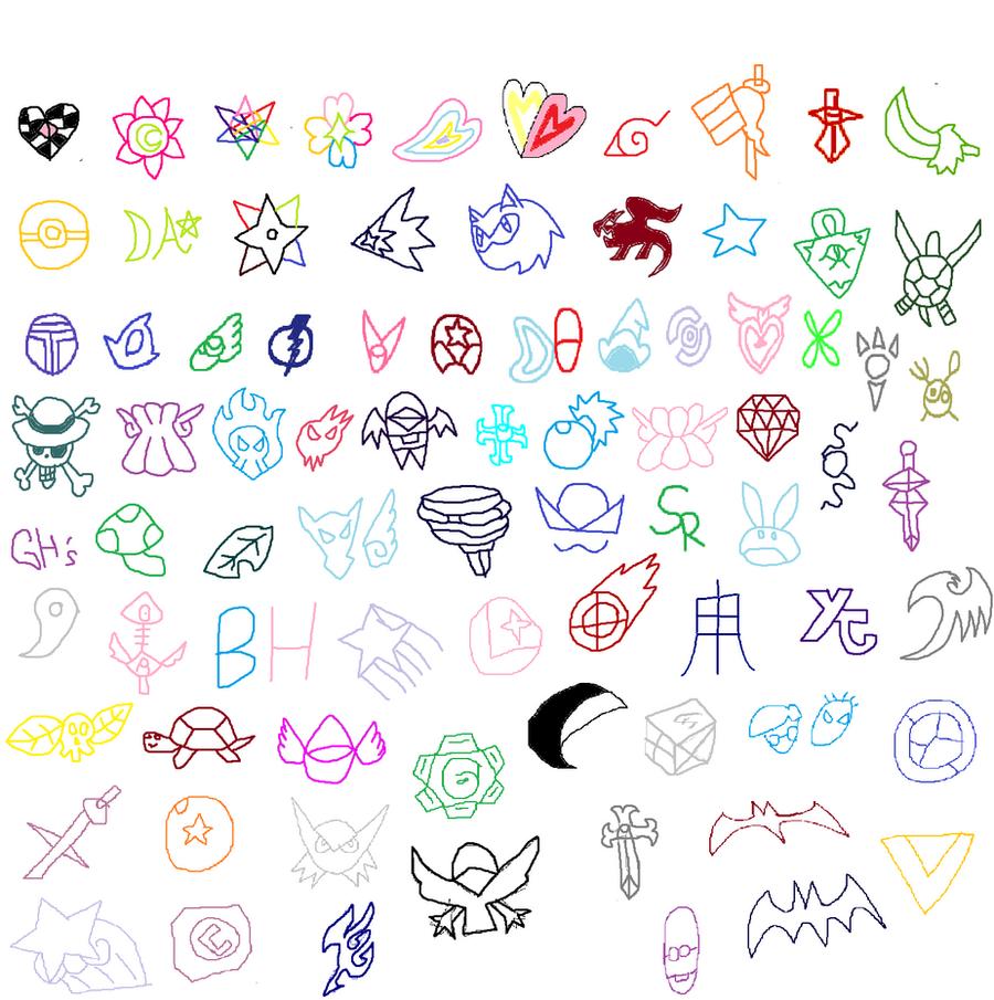 All Star Cross Symbols By Tomyucho On Deviantart