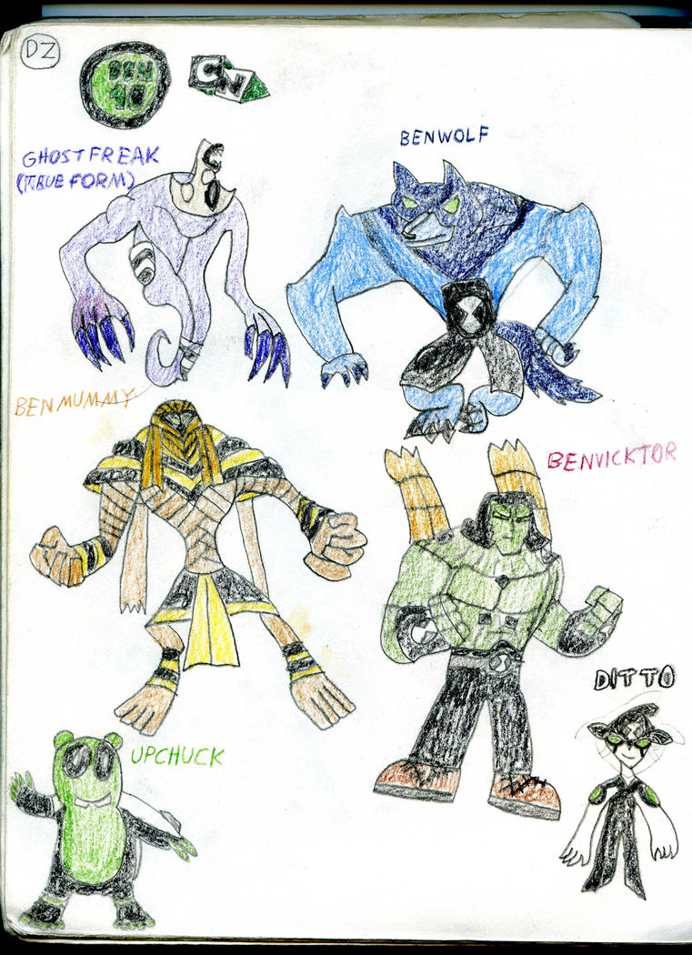 Ben 10 All Aliens Name And Pictures List Fitrini S Wallpaper