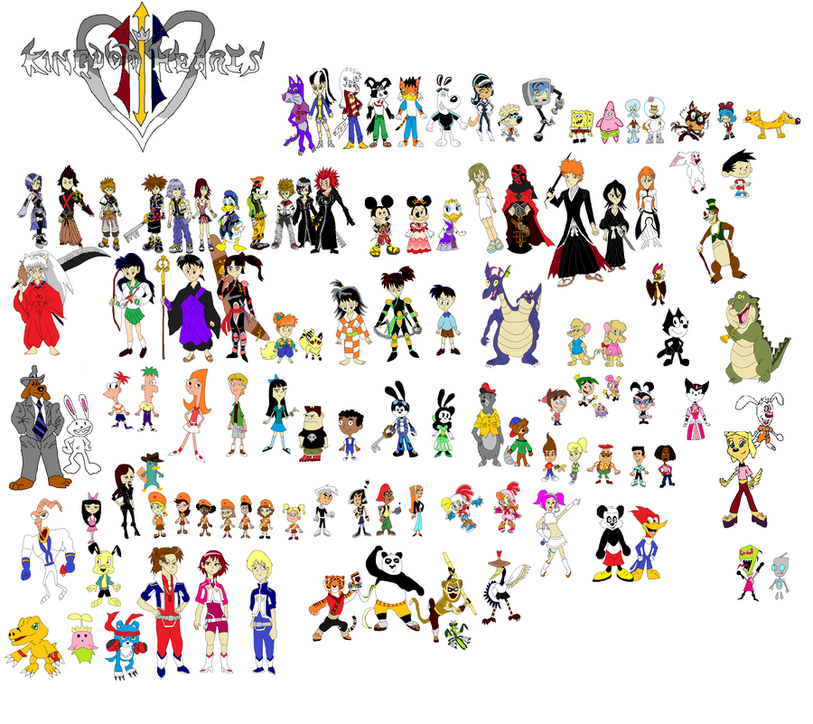 Kingdom Hearts 3 Teams by tomyucho