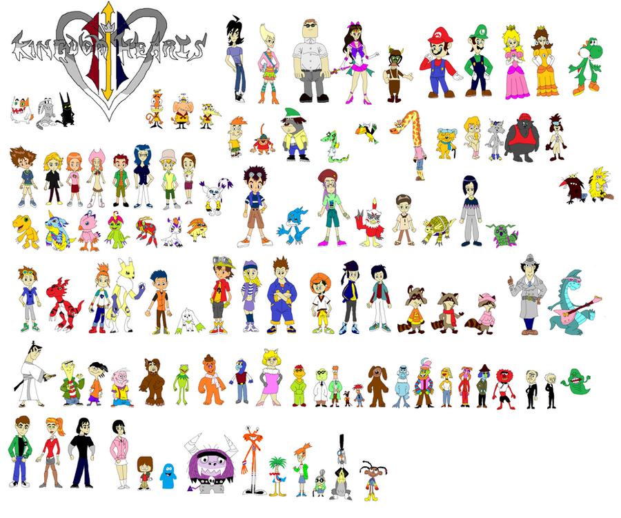 Kingdom Hearts 3 Support by tomyucho