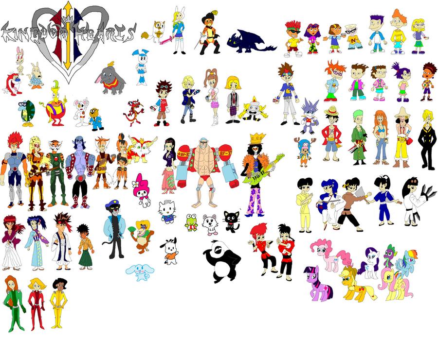 Kingdom Hearts 3 Allies by tomyucho