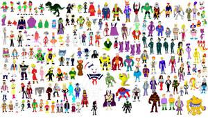 Super Sentai Villains 2 by tomyucho