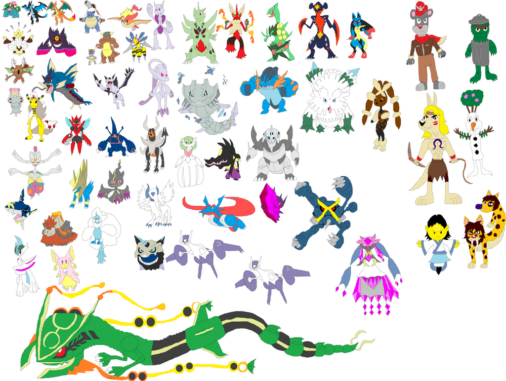 Pokemon mega evolution special by tomyucho on deviantart - Pokemon y mega evolution ...