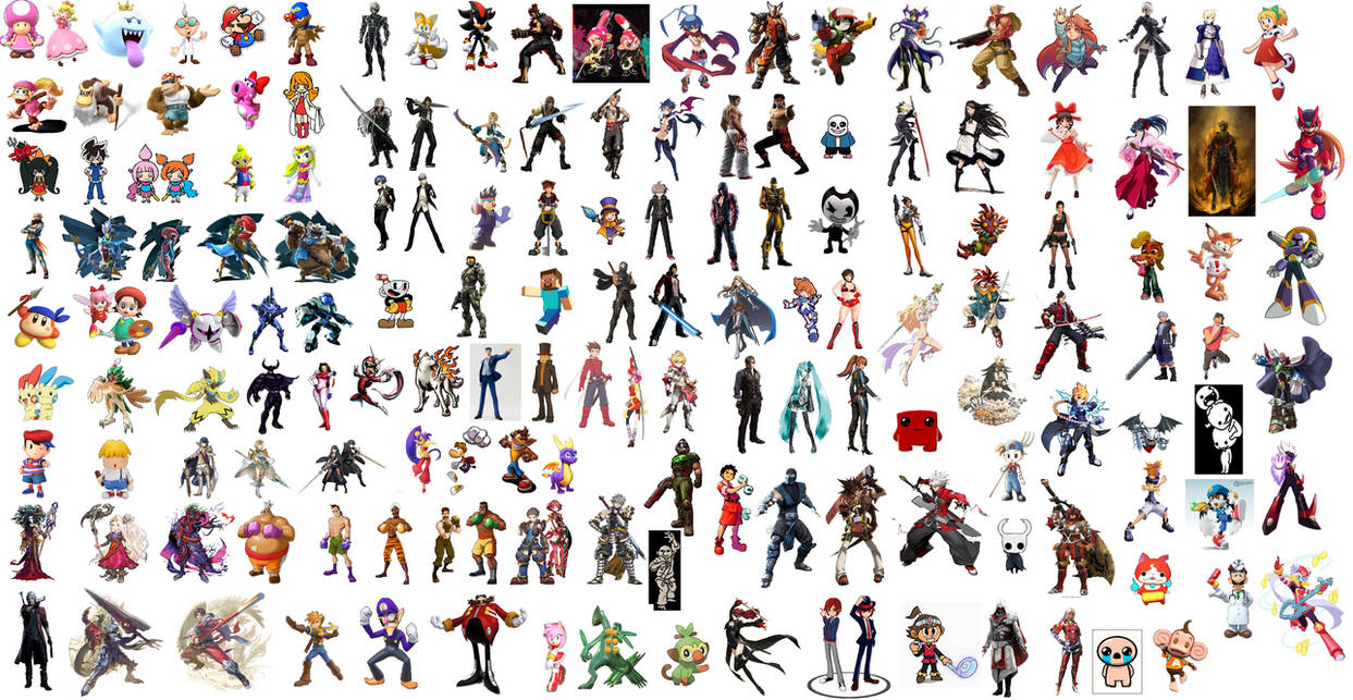 Super Smash Bros  Ultimate Pick Your DLC Fighters by tomyucho on