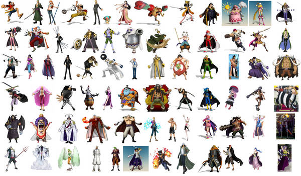 One Piece Pirate Warriors 5 Cast