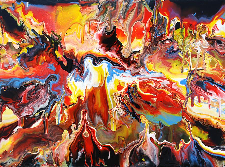 Melting Landscape Painting