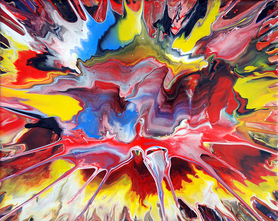 Abstract Spin Painting 21