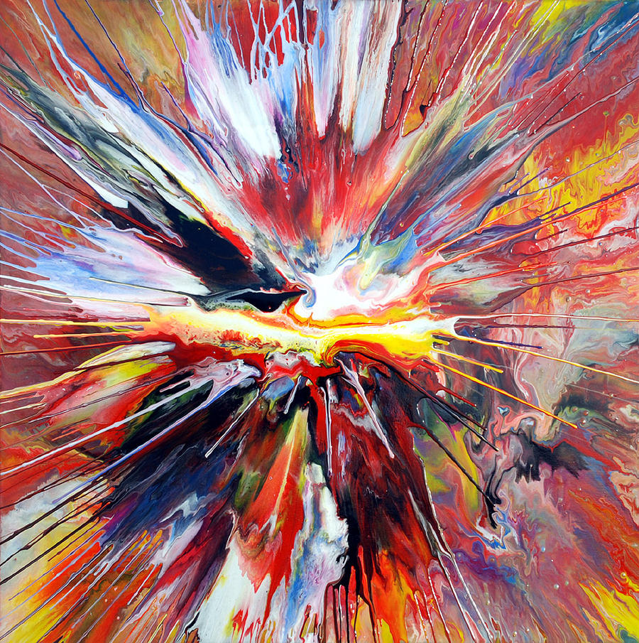 Abstract Spin Painting 23