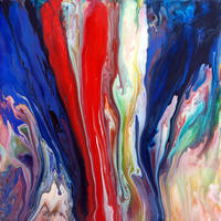Flowing Acrylic Colours by Mark-Chadwick