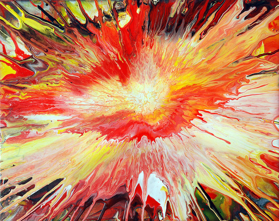 Acrylic Paint Explosion by Mark-Chadwick