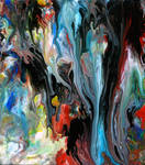 Acrylic Fluid Painting 59