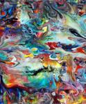 Acrylic Fluid Painting 61 by Mark-Chadwick