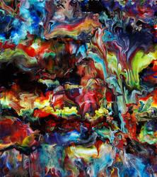 Abstract Fluid Acrylic Art by Mark-Chadwick