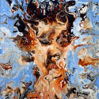 Fluid Self Portrait by Mark-Chadwick