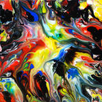 Abstract Art Fluid Painting 80