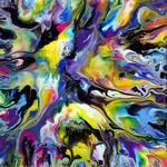 Fluid Painting 89 Acrylic Abstract Art