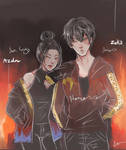 Fire kids by lee-lit