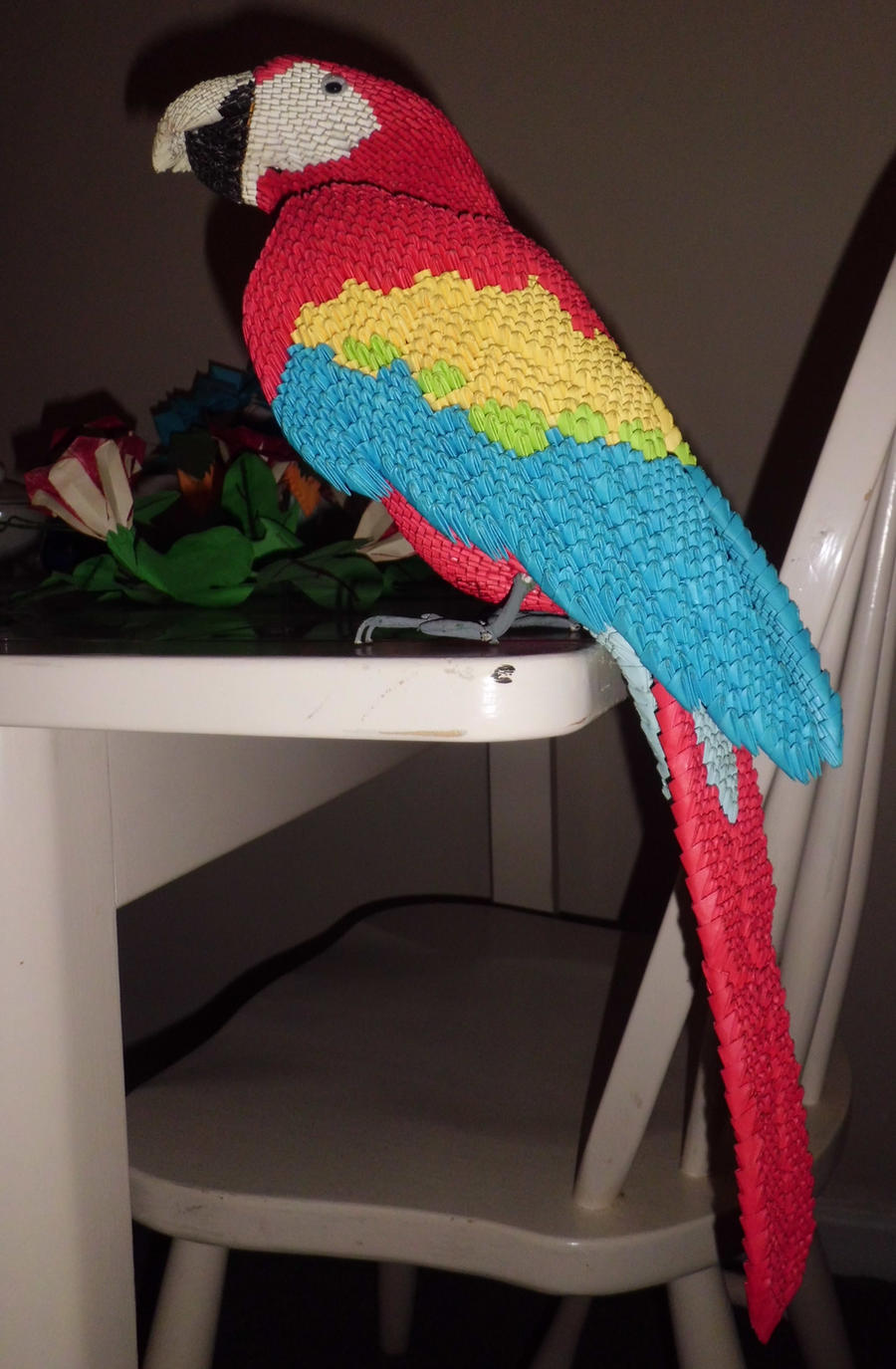3d Scarlet Macaw by dfoosdc