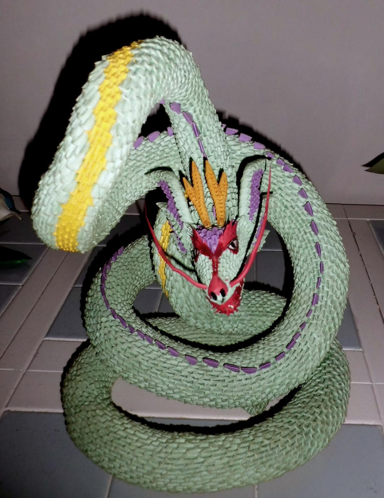 3d origami serpent 2 by dfoosdc on deviantart 3d origami serpent 2 by dfoosdc jeuxipadfo Gallery
