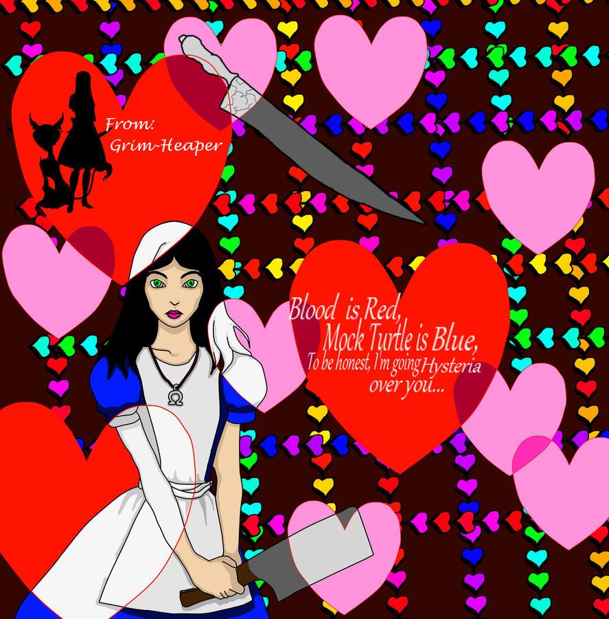 Valentine Alice by Grim-Heaper