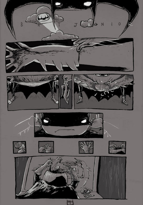 page 1 of Bat Junior comic.