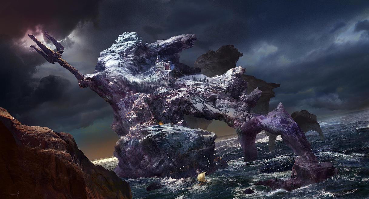 Winter Poseidon by benzyvyngona