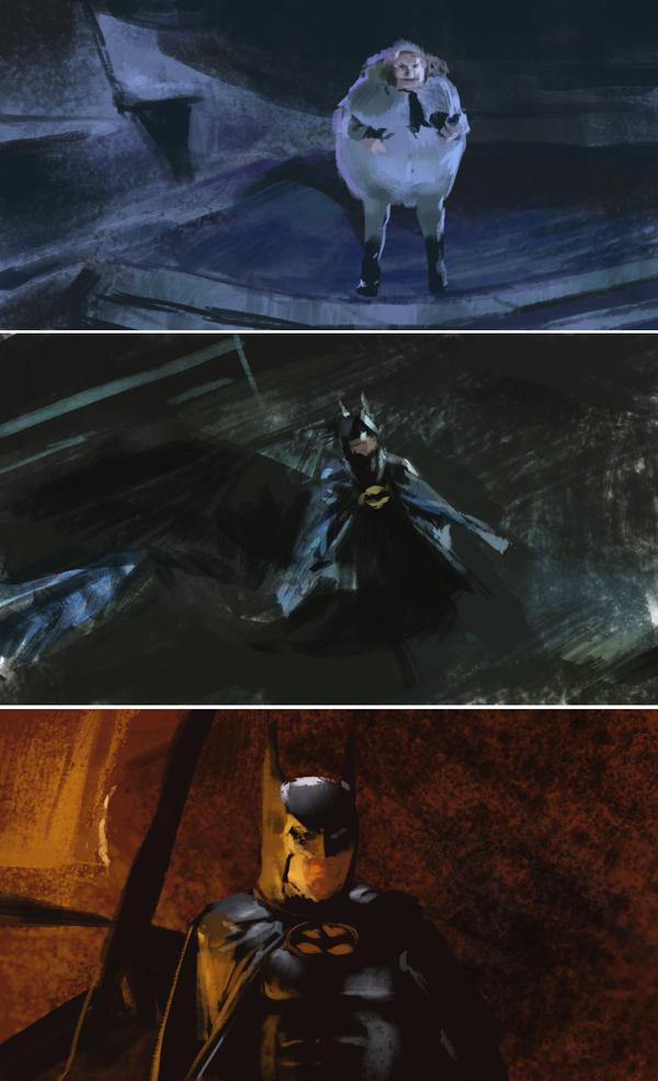 batman returns 1992 studies by benzyvyngona