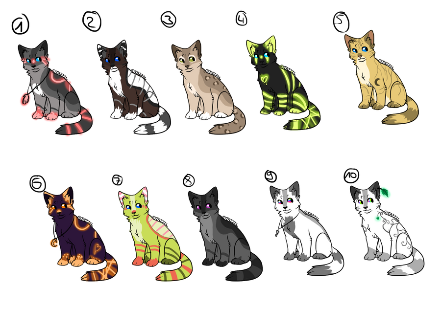 .adoptables. by nikushya1