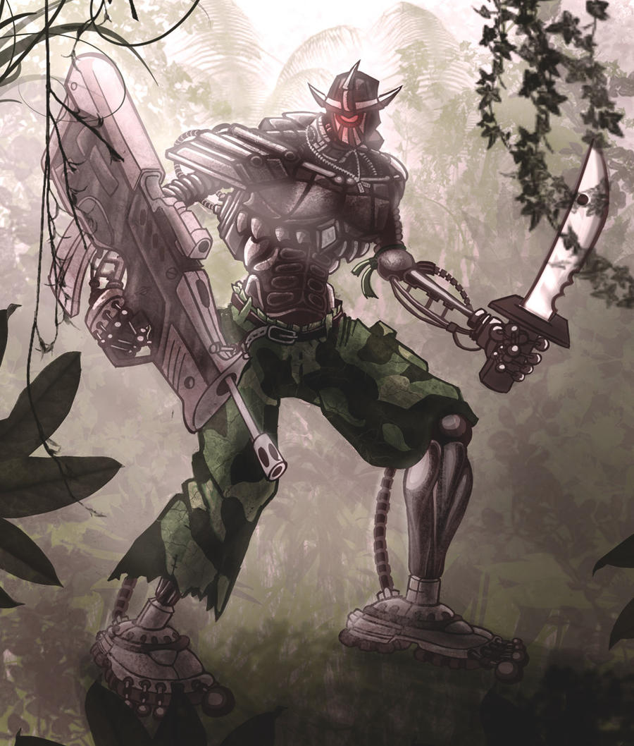 Junglebot by thevilbrain