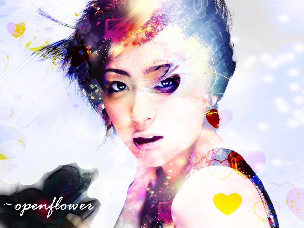 """Utada Hikaru - Diva nước Nhật và """"đứa con lai kém may mắn""""  Utada_Hikaru_by_openflower"""