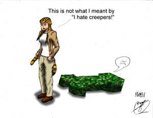 Crossworlds: Creeper vs Nina Paths
