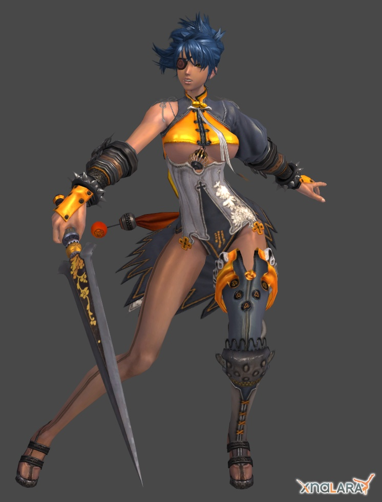 Blade And Soul : Gon Female 002 by XNALaraFanatic
