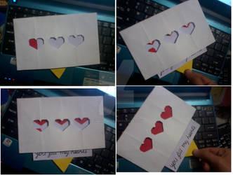 Zelda valentines day card by Romana-Grimm