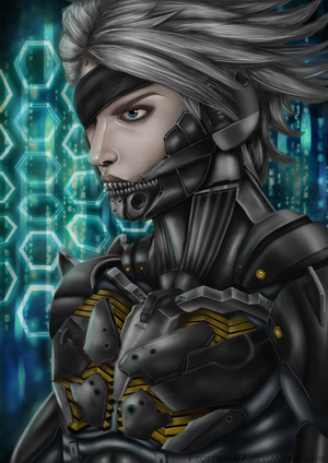 Metal Gear: Raiden by Frostbite07