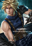 Cloud Strife by Frostbite07