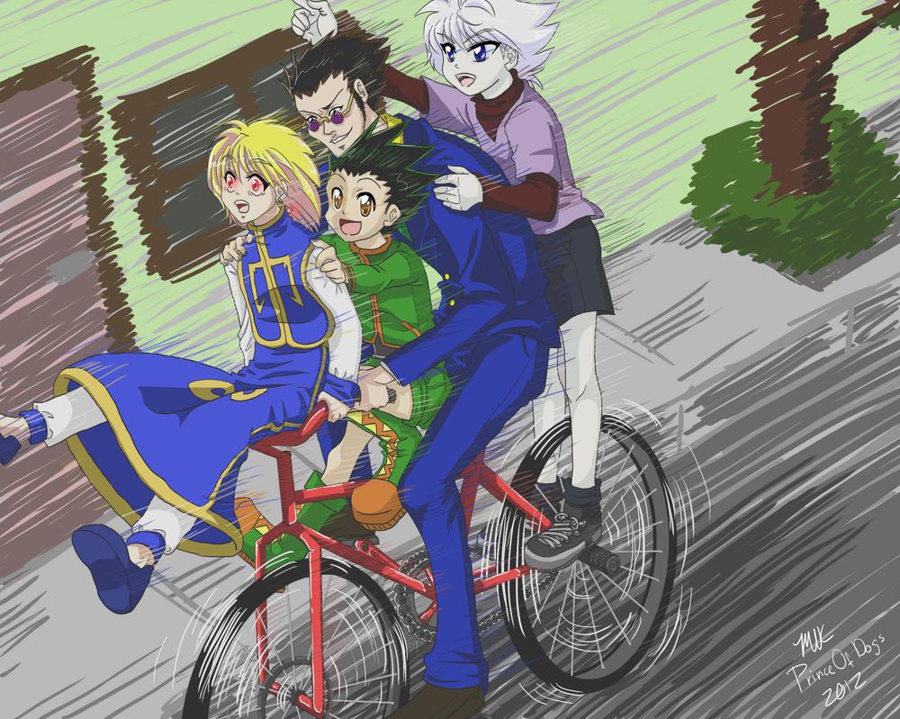 Bike Ride by PrinceOfDogs