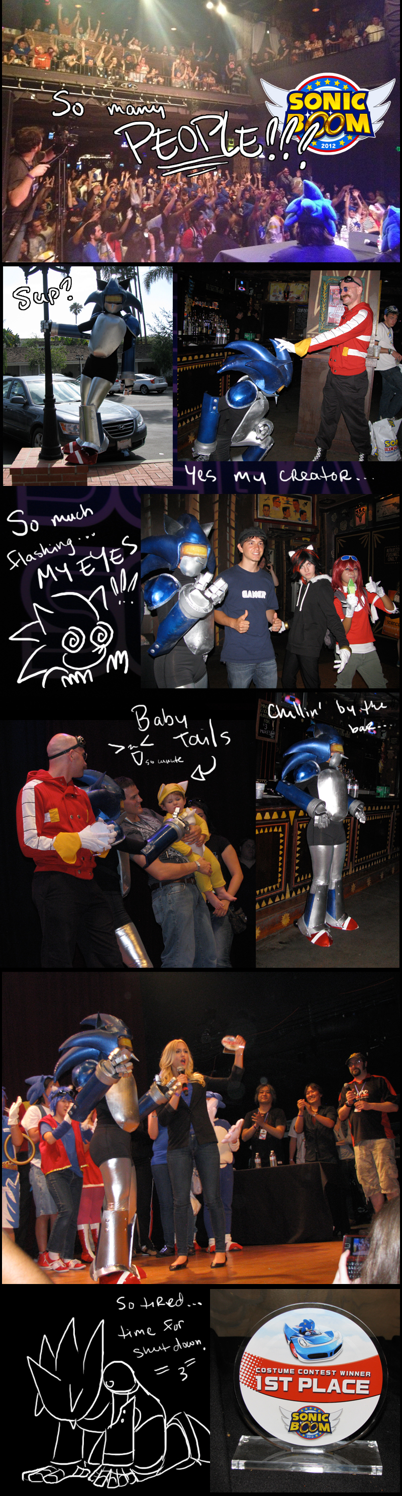 Sonic Boom 2012 - Mecha Edition by BlazeTBW