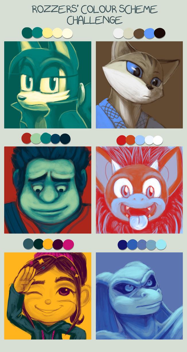 Color Scheme Challenge by BlazeTBW